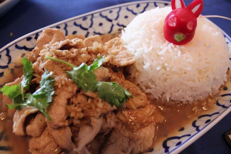 Tod Gratiam Prik Thai by Sala Thai Cuisine.