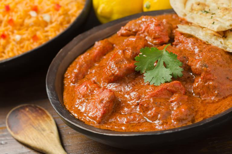 Butter chicken by Rangoli Indian Cuisine & Sweets.