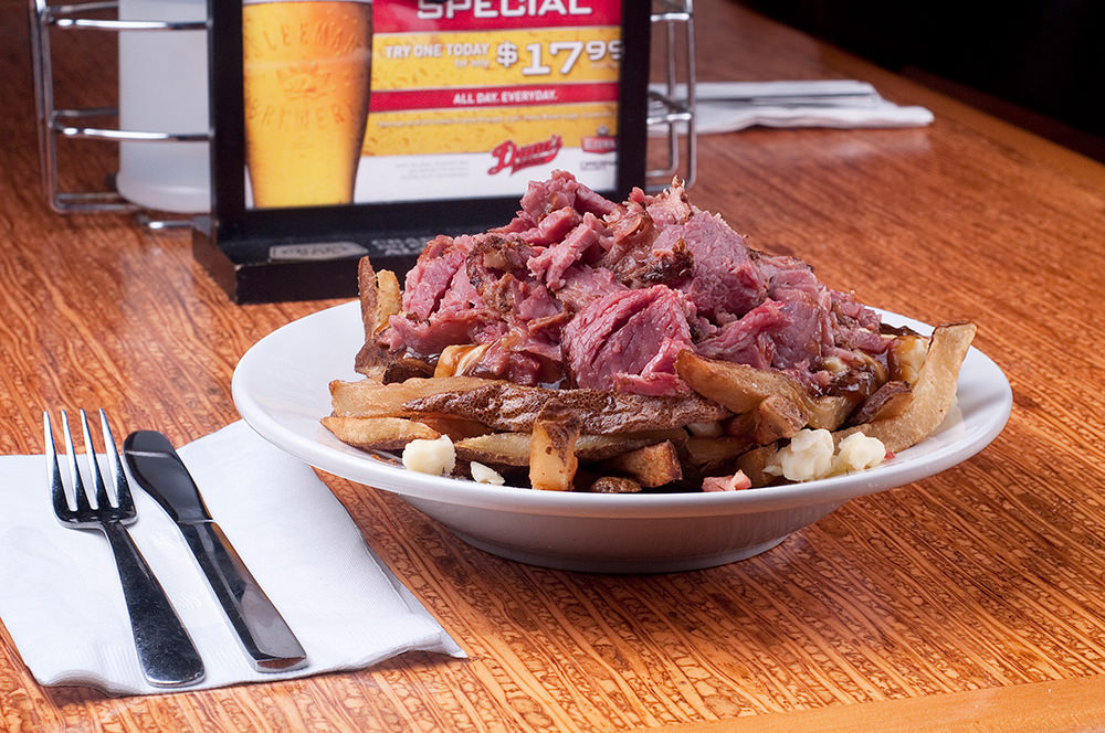 Smoked Meat Poutine by Dunn's Famous.